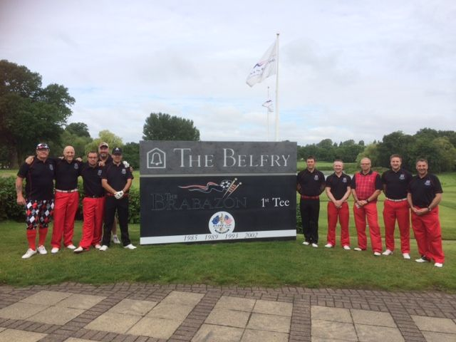 Brampton Crusaders Golf Society sporting their black and red themed society colours