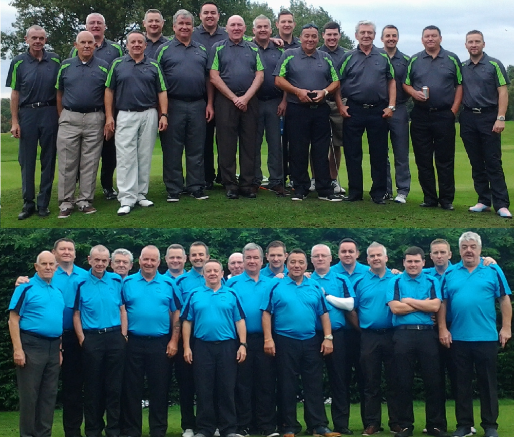 Courtesy of Dennis Taggart, we have a compilation picture of the Malletsheugh Golf Society during their