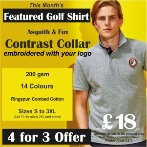 4 for 3 on Featured Golf Shirt