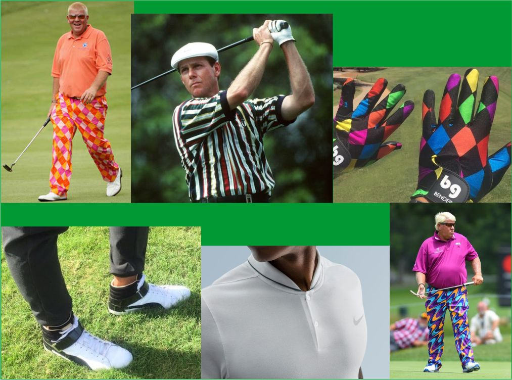 Will Golfing Superstars ever be at the forefront of Fashion?