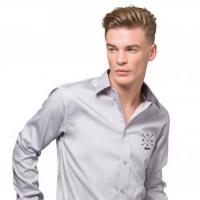 Contrast Premium Long Sleeved Oxford Shirt