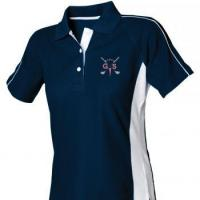 Women's sports polo shirt