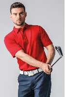 Luxury Pima Cotton Golf Polo Shirt