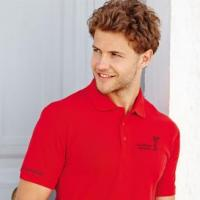 Heavyweight 65/35 mens golf polo shirt