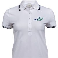 Ladies Luxury Stretched Tipped Polo Shirt